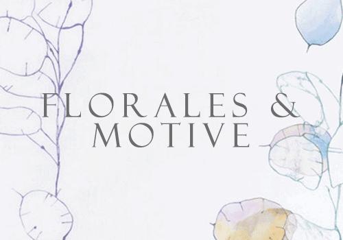 Blumen und Motiv Bettwäsche